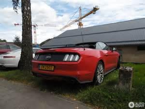 ford mustang gt convertible 2015 9 november 2016