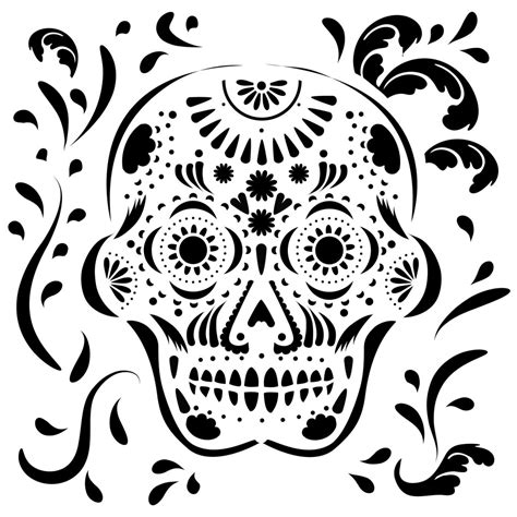 embossed metal sugar skull the crafter s workshop blog