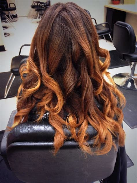 yolanda foster a hair salon ombre hair color technique on balayage technique while