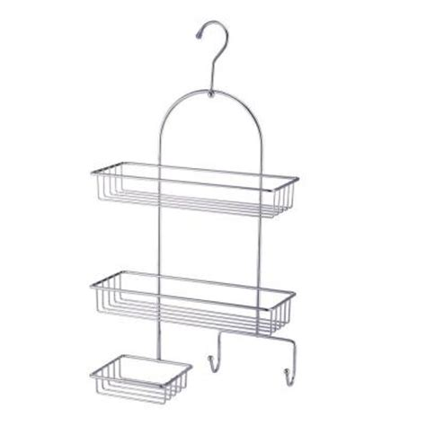 hopeful 3 tier shower caddy in chrome cb07008 the home depot