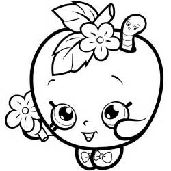 Shopkins Season 1 Coloring Pages  GetColoringPagescom sketch template