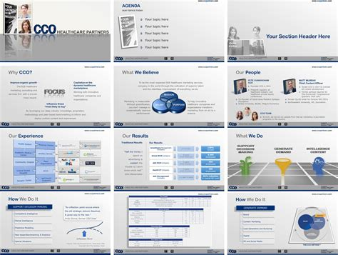 Elegant Professional Powerpoint Design For Cco Healthcare Best Ppt Presentations Sles