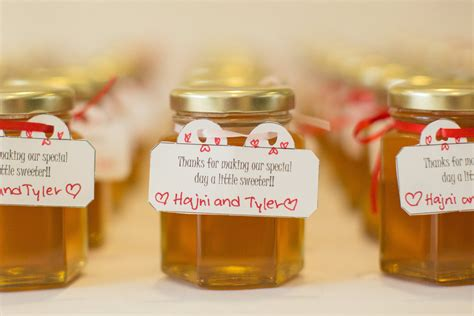 Honey Wedding Favors 48 Honey Jars Large 3.75 oz/110ml