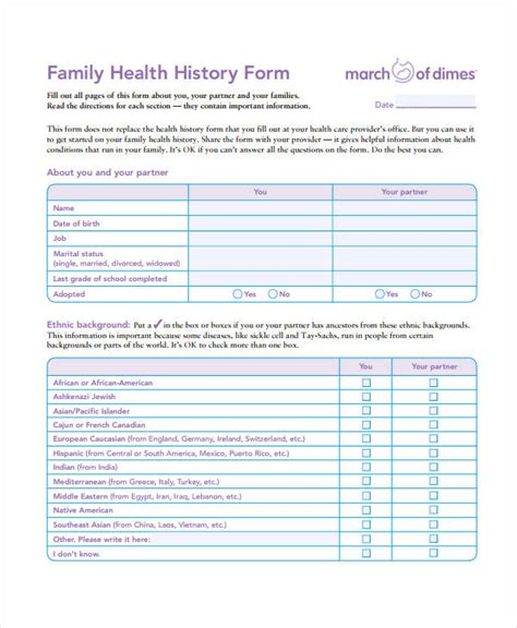 history form template pdf template forms for business alfonsovacca