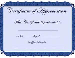 Free Certificate Of Appreciation Template Downloads Certificate Of Appreciation Templates Sampleprintable Com