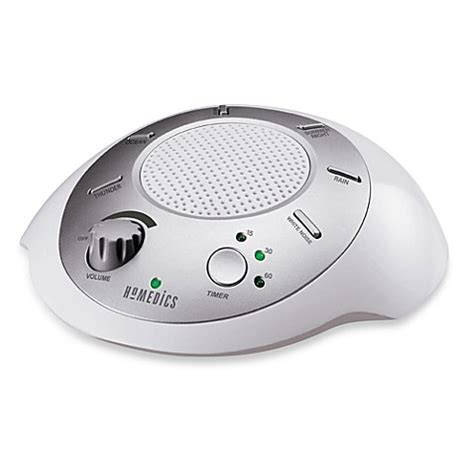 homedics 174 soundspa 174 sound machine bed bath beyond