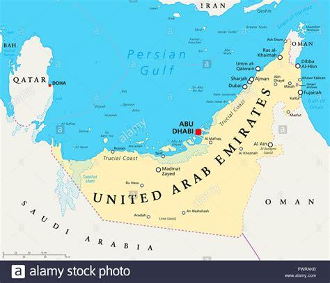 uae political map uae united arab emirates political map with capital abu