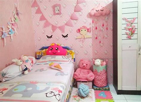 tutorial hiasan kamar tidur 45 dekorasi kamar anak perempuan minimalis lagi ngetrend