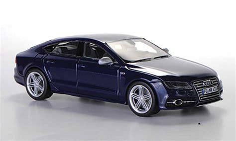 Audi S7 Kaufen by Audi S7 Sportback Blau 2012 Schuco Modellauto 1 43