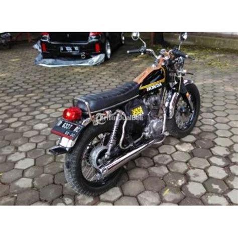 Striping Honda Gl 126 honda gl 100 modif cb klasik pajak hidup mesin sehat normal motor siap pakai bandung dijual
