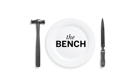 The Bench Caf 233 Brand Identity By Neon