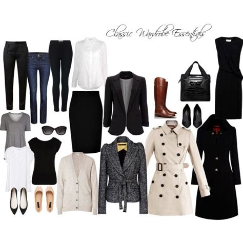 Wardrobe Essentials by Classic Wardrobe Essentials Look
