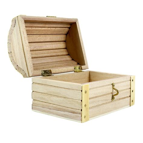 treasure chest artminds 174 wood treasure chest 5 12 quot x 3 43 quot x 3 54 quot