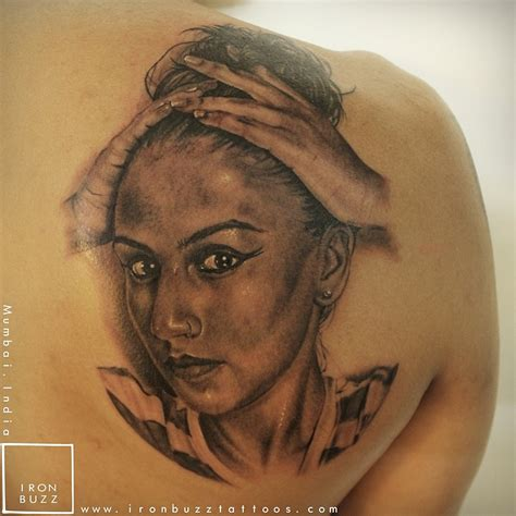 girlfriend tattoo designs realistic tattoos by eric india s best artists