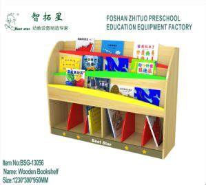 china wooden bookcase preschool bookshelf wooden