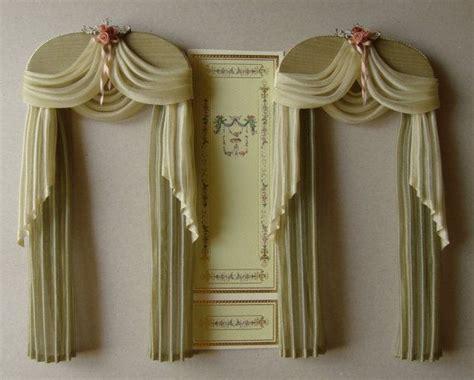 how to make dollhouse curtains 1000 dollhouse ideas on pinterest homemade dollhouse