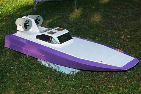 rc jet airboat shipmodell rc airboat