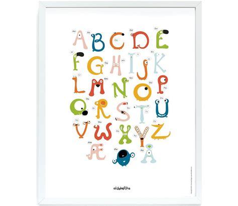 Plakat Alfabet plakat med alfabetet 40x50 cm sprell veldig