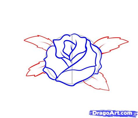 how to draw a tattoo rose how to draw a step by step tattoos pop