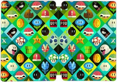 Mini Bros Motif pc inner cover and leather for mini 1 2 3 diy theme x4t7n mario bros x5l2h