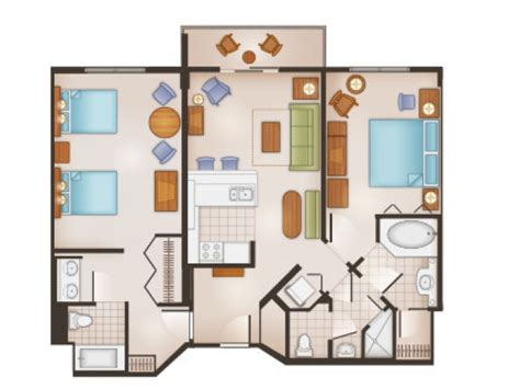 saratoga springs grand villa floor plan saratoga springs 2 bedroom villa floorplan sleeps 8