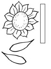 sunflower printable template nami yolo seeds of