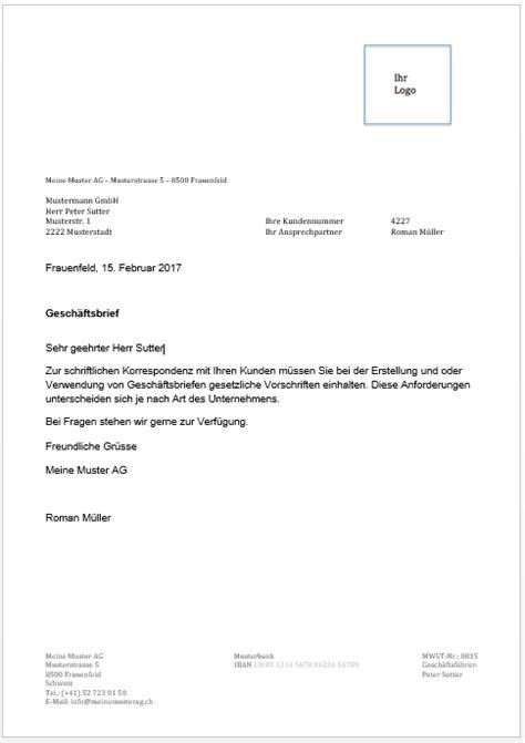 Vorlage Geschäftsbrief Modern Gesch 228 Ftsbrief Vorlage Muster Zum Gratis