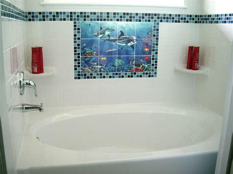 bathroom tile murals dolphin and whale bathroom tile ideas dolphin reef ii