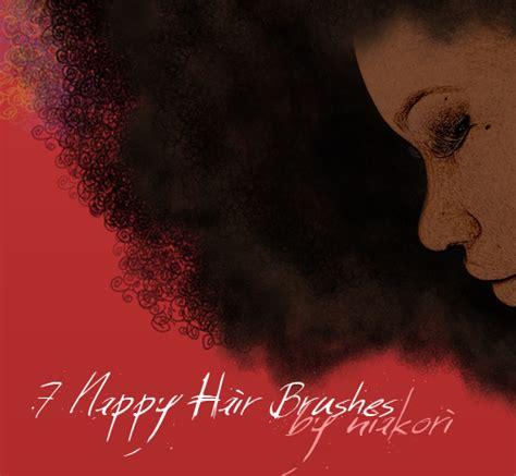 short wavy hair photoshop brushes s3d nappy hair brushes by niakori on deviantart