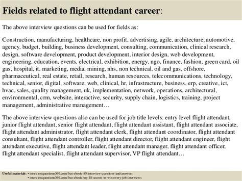 get sample questions for flight attendant interviews 9742310