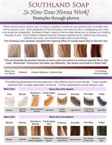 rainbow henna color chart 1000 ideas about henna hair dyes on henna