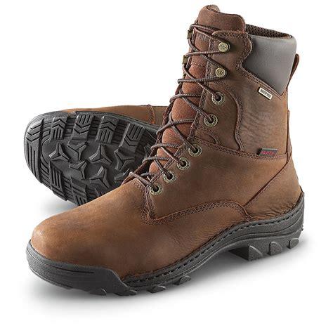 wolverine steel toe boots s wolverine 174 waterproof 8 quot durbin steel toe boots
