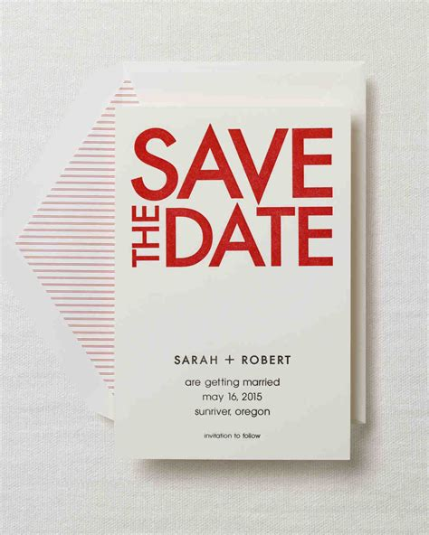 Save The Date by Modern Save The Dates For A Contemporary Celebration