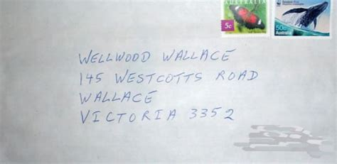 Address Australia How To Write An Address On An Envelope In Australia Pictures 2