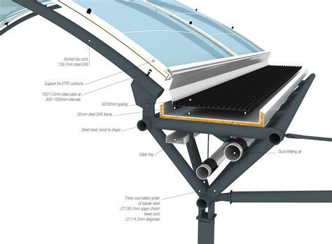 awning construction details canopy structure 3 munich detail magazine architecture pinterest details