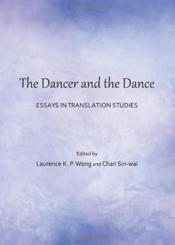 thesis in translation studies the dancer and the dance essays in translation studies