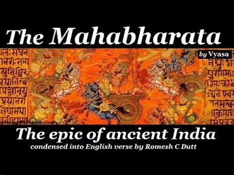 the books the mahabharata by vyasa audio book greatest
