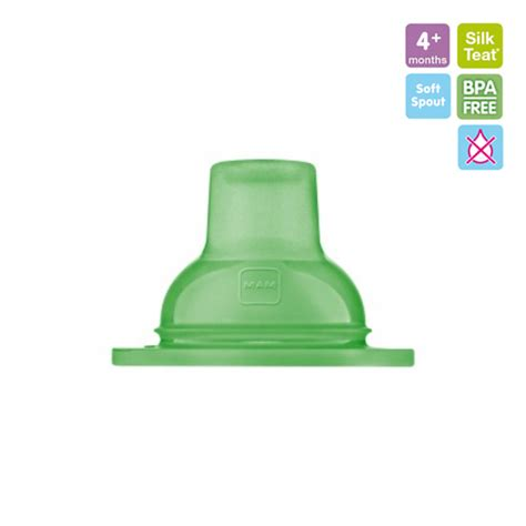 Mam Trainer Green Spout With Teat T1310 mam soft spout non spill bpa free ของใช เด ก