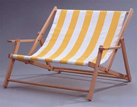 sedie sdraio brico sdraio in legno fai da te