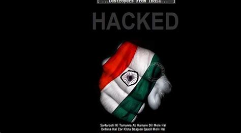 Hacking Website Kiddo india and pakistan are at war this time not on a