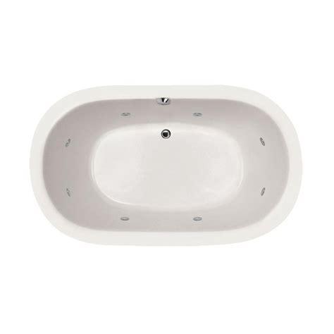 bathtub drain switch 4 1 2 ft left drain drop in whirlpool tub in white lpi18