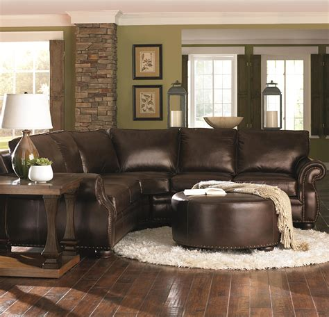 Beautiful Brown Sectional Sofa Decorating Ideas Images Sectional Sofas Decorating Ideas