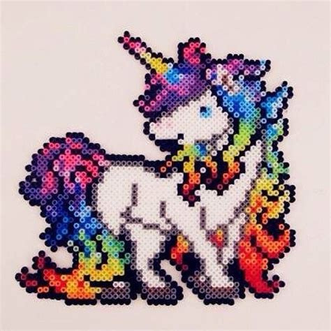 Unicorn Perler By Odette00852 Melty Patterns