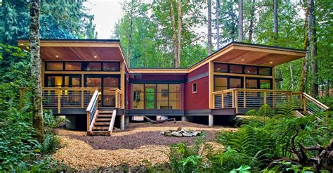 modern prefab cabin prefab modular homes builder on the west coast method homes