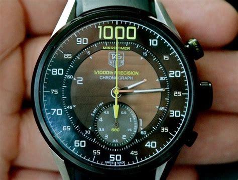 Tag Heuer Mikrotimer tag heuer mikrotimer the fastest chronograph made slashgear