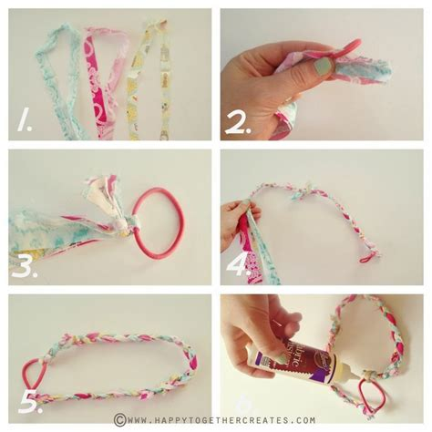 Handmade Headband Ideas - diy make and simple headbands like this braided