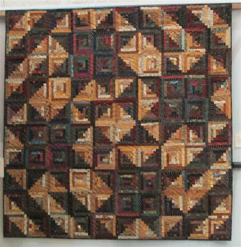 log cabin layouts log cabin quilt in a layout from judy martin s log cabin