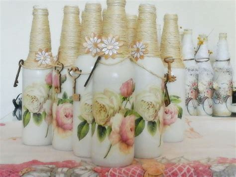 garrafas decoradas sisal garrafas decoradas para casamento 30 ideias simples