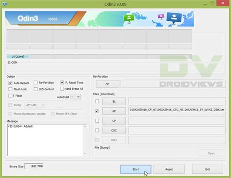 Reset Android Using Odin | try android 4 3 leaked firmware n7100xxuem16 on samsung