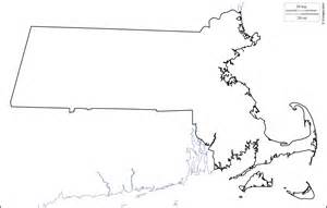 Free Outline Of A by Geography Massachusetts Outline Maps